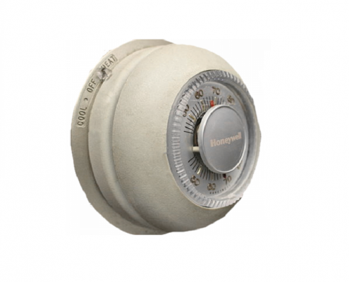 a wall thermostat