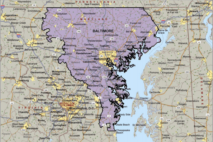 Baltimore Coverage Area For Fire Restoration and Repair