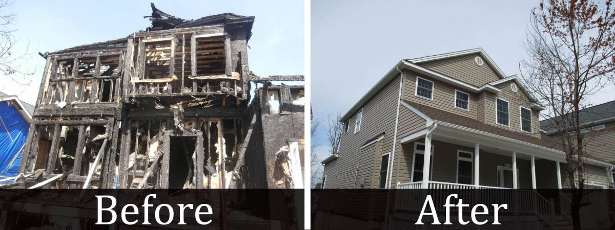 Residential Fire Restoration entire home