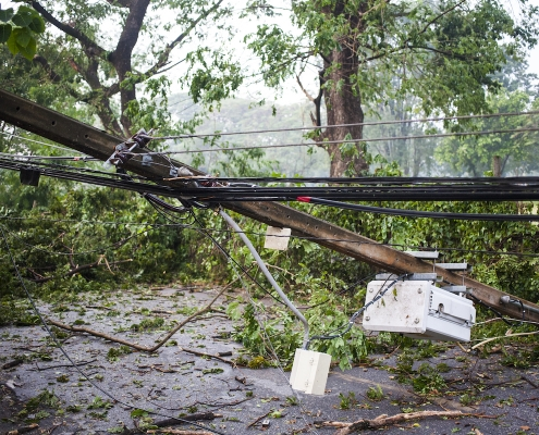 damages caused by wind