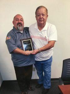 Daniel Mariscal & Customer Carl Dickerson
