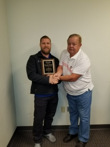 Jeremy Holst & Customer Carl Dickerson