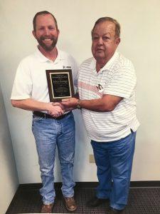 John George & Customer Carl Dickerson