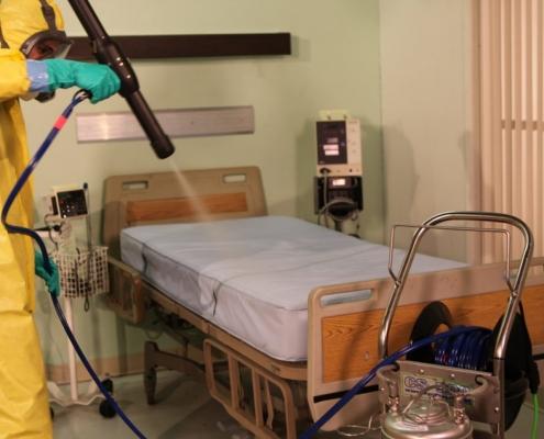 hospital restoration/cleaning