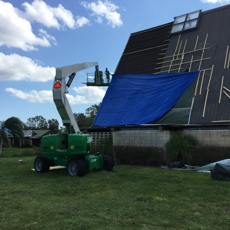 Commercial Roof Reapair 2