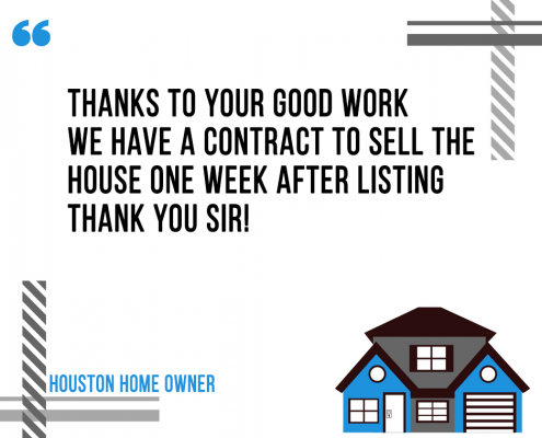 Houston Home Resold