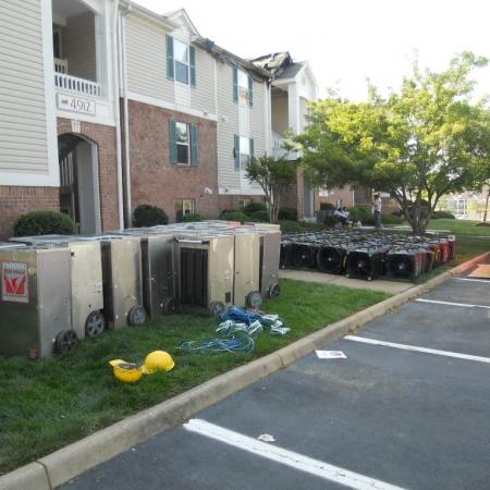 Vinings Apartment Equipment Staging