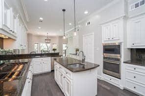kitchen restoration after shot