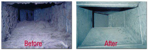 Clean ducts can prevent water damage in your home