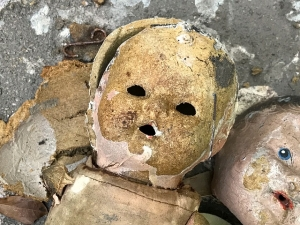 Water Damaged Child's Toy
