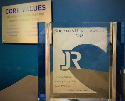 The 2018 Servant's Heart Award