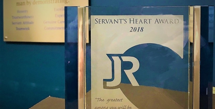 The 2018 Servant's Heart Award