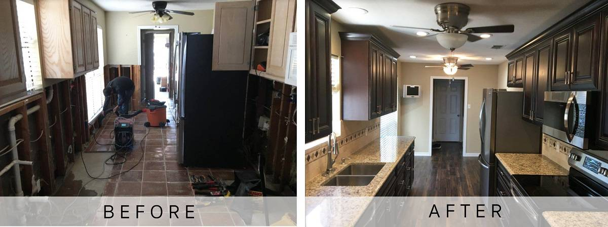 Dallas Kitchen Fire Damage Restoration