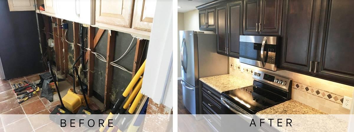 Dallas Kitchen Fire Restoration