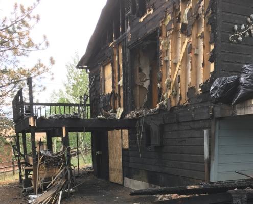 Denver Fire Damage