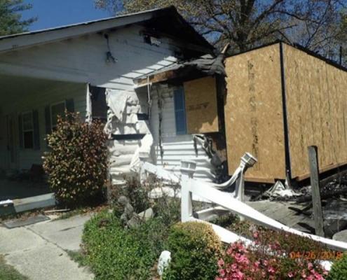 Richmond Fire Damage