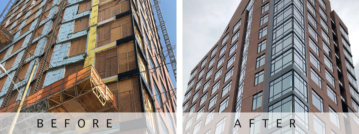 Large Commercial Restoration in NC