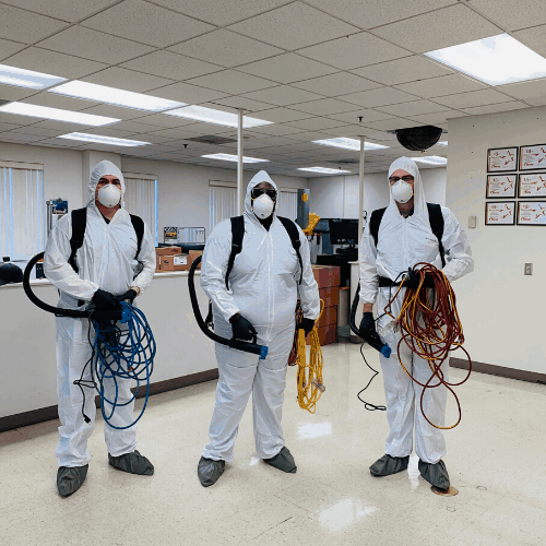 JR Coronavirus Disinfection Team