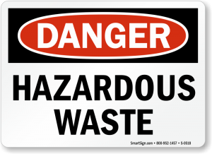 Sewage is hazardous waste and can make you sick