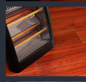 Stay safe with your space heater by following safety precautions